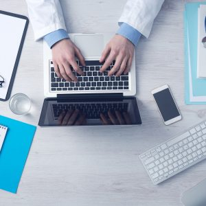 This doctor has a suspiciously clear desk…plenty of time to see you then!