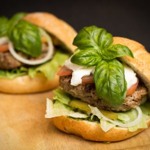 Yes – there are even healthy (or healthier) hamburgers